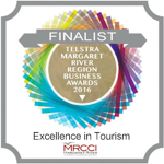 Finalist in the Excellence in Tourism category