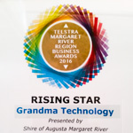 Rising Star award at the Telstra MRCCI business awards
